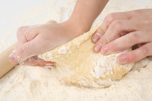 Gluten free bread dough