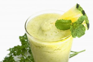 Weight Loss Smoothie with Cucumber, Celery, Pumpkin and Fennel