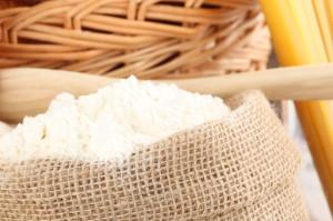 White gluten free flour blend