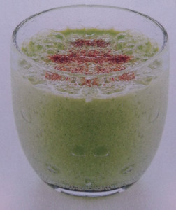 Weight Loss Smoothie Recipe with Watercress and Yogurt