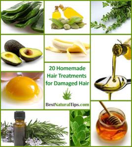 Homemade Hair Treatments for Damaged Hair