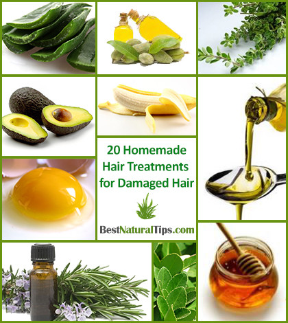 Homemade Hair Treatments for Damaged Hair