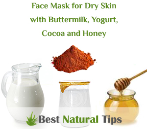 how to make a homemade face mask for dry skin