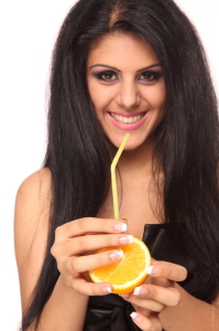 Fruit juice beauty benefits