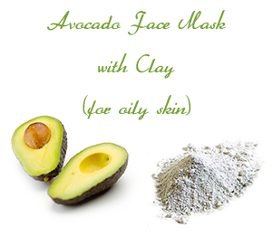 Avocado Face Mask with Clay