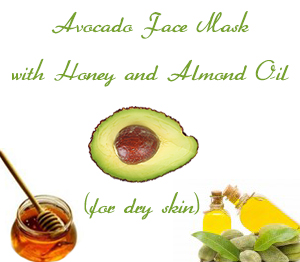 Avocado Face Mask with Honey and Almond Oil