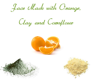 20 homemade face masks for oily skin homemade face mask for oily skin with orange clay and cornflour solutioingenieria Images